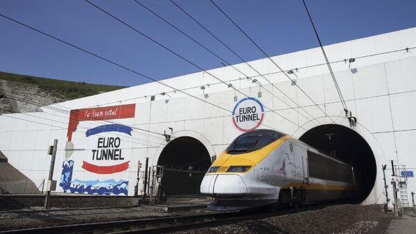 Le tunnel sous la Manche (Eurotunnel) - Sputnik France