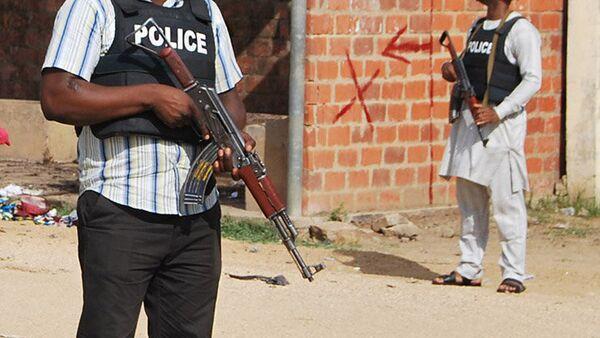 Nigéria.  Police. - Sputnik France