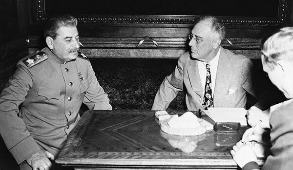 Les relations soviéto-américaines à l'époque de Roosevelt - Sputnik France
