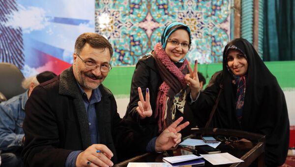 le peuple iranien a pris part aux élections de l'assemblée législative - Sputnik France