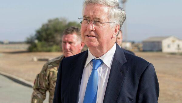 Le ministre britannique de la Défense Michael Fallon - Sputnik France