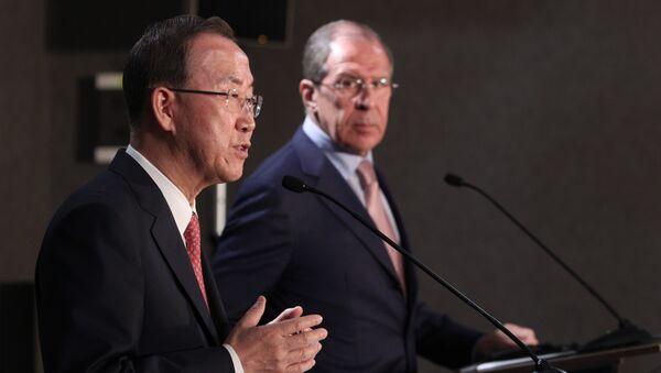 Entretien Lavrov - Ban Ki-moon - Sputnik France