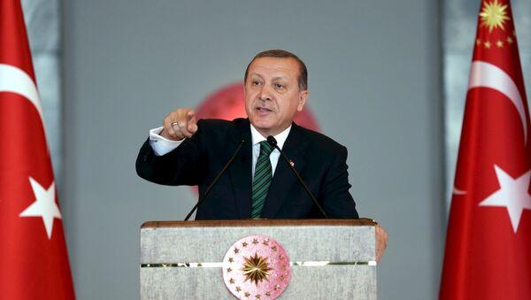 Le président turcs Recep Tayyip Erdogan - Sputnik France