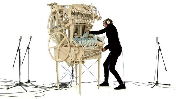 Wintergatan Marble Machine - Sputnik France