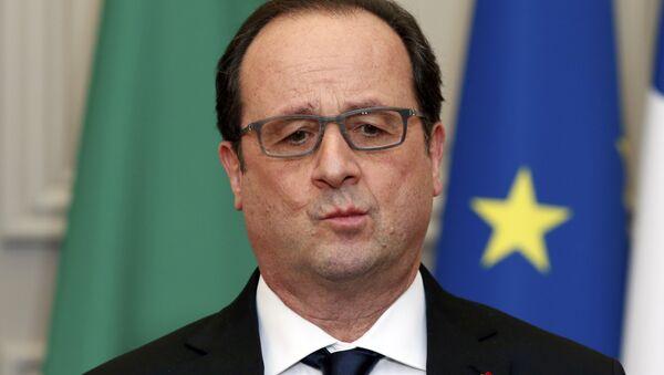 Le président français Francois Hollande - Sputnik France