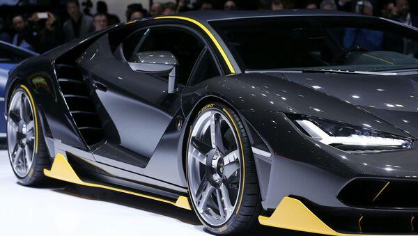 Une Lamborghini Centenario au Salon de Genève - Sputnik France