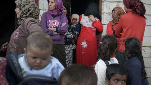 Syrian refugees in Lebanon's Bekaa Valley - Sputnik France