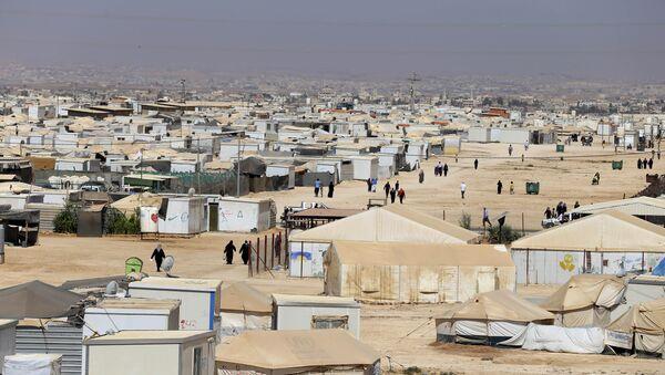 Un camp des réfugiés, Jordanie - Sputnik France