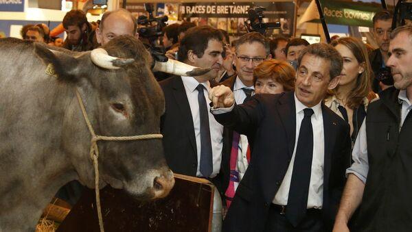 Nicolas Sarkozy au Salon de l'agriculture - Sputnik France
