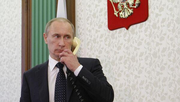 Poutine s'entretiendra sur la Syrie avec Merkel, Hollande et Cameron - Sputnik France