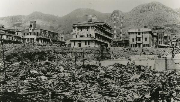 La ville de Nagasaki après le bombardement atomique du 9 août 1945 - Sputnik France