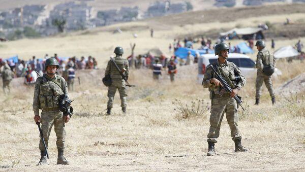 Militaires turcs à la frontière - Sputnik France