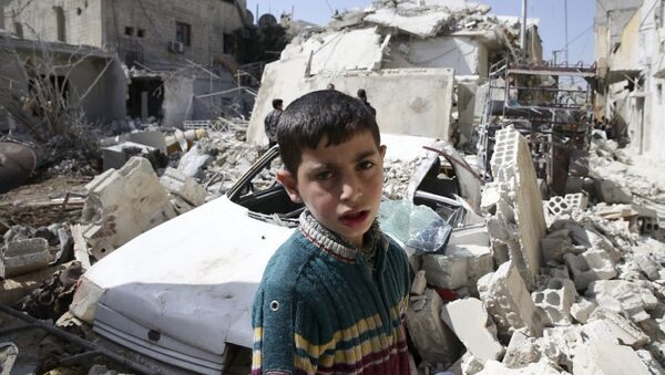 Une trêve en Syrie. - Sputnik France