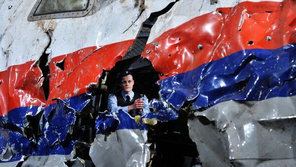 Crash du Boeing-777 - Sputnik France