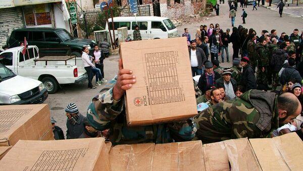 La Russie a fourni une aide humanitaire à la Syrie Kessab, Province Latakia - Sputnik France