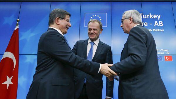 Sommet UE-Turquie - Sputnik France