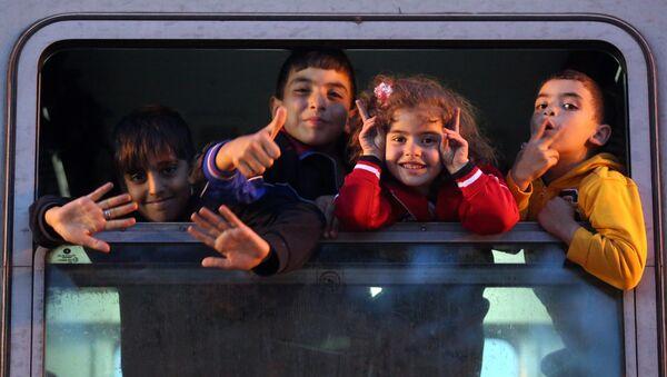 Des enfants migrants - Sputnik France