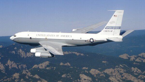 Ciel ouvert : vol d'inspection américano-canadien en Russie - Sputnik France