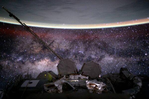 Les vues incroyables depuis le bord de la Station spatiale internationale - Sputnik France