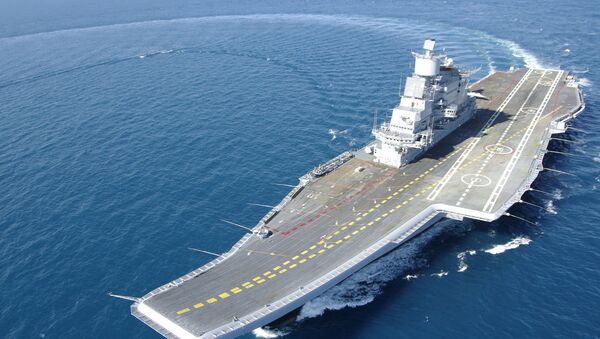Porte-avions Vikramaditya - Sputnik France