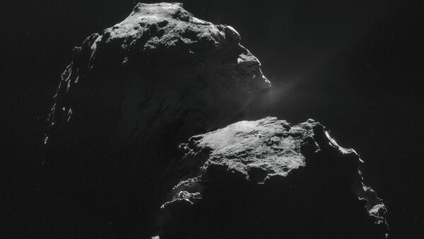 La comète 67P - Sputnik France