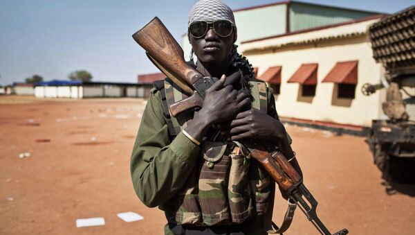 Un soldat sud-soudanais - Sputnik France