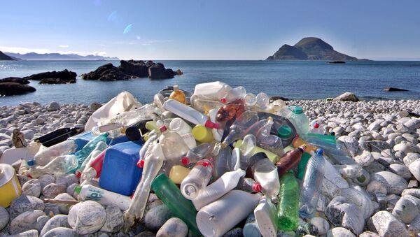 Des déchets plastiques - Sputnik France