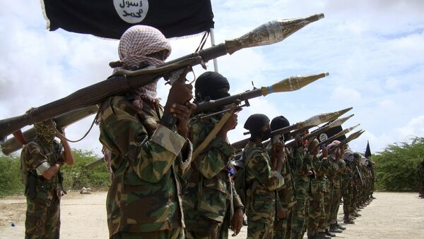 Combattants du groupe islamiste Al-Shabbaab - Sputnik France