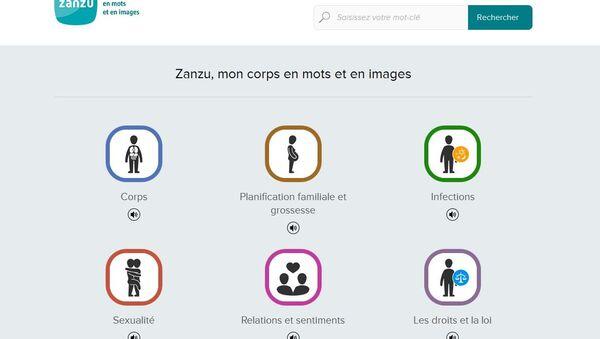 Le site Internet pour les réfugiés sur le sexe Zanzu - Sputnik France