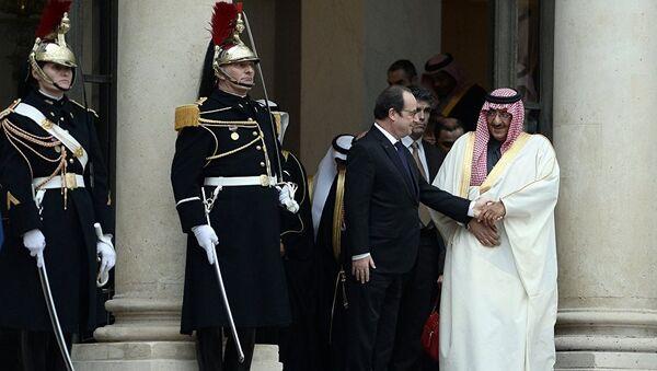le prince saoudien Mohammed ben Nayef et  François Hollande - Sputnik France
