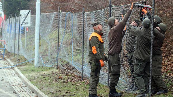 L'Autriche envisage de construire de nouvelles clôtures à ses frontières - Sputnik France