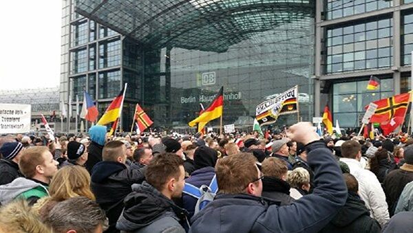 Meeting à Berlin - Sputnik France
