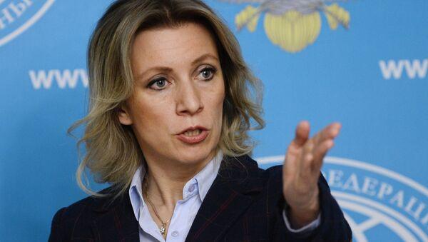 Брифинг официального представителя МИД России М. Захаровой - Sputnik France