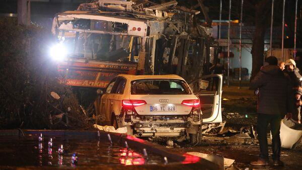 Explosion à Ankara, le 13 mars 2016 - Sputnik France