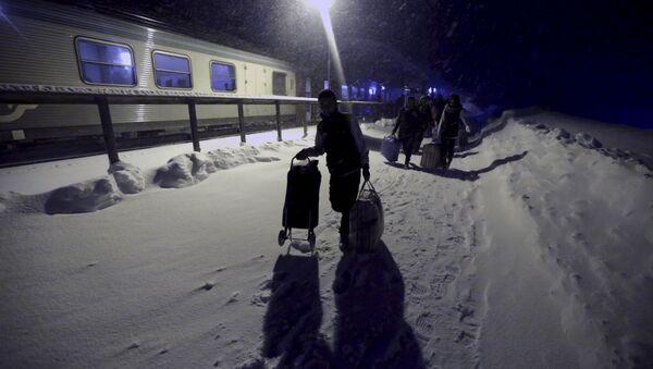 Des réfugiés syriens en Finlande - Sputnik France