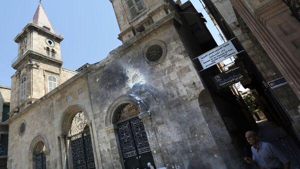 Маронитская церковь в городе Алеппо - Sputnik France