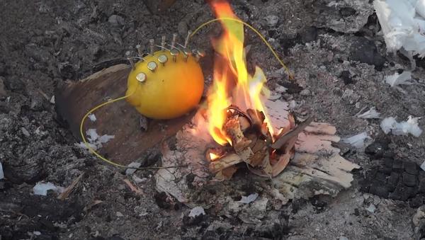 Une nouvelle façon d'allumer un feu - Sputnik France