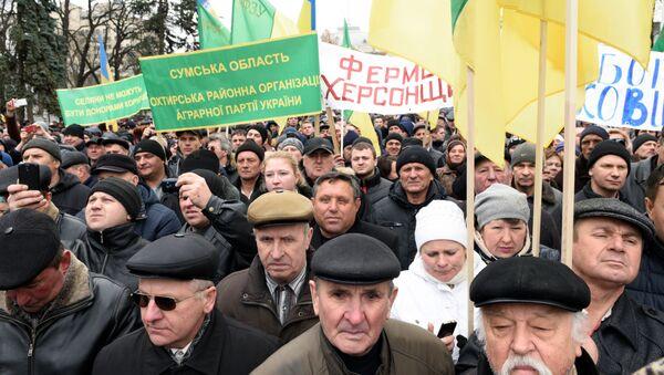Manifestation à Kiev: La bande de lapins en prison! - Sputnik France