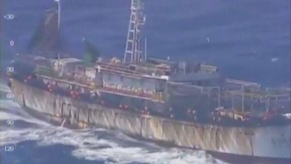 Les garde-côtes argentins coulent un navire de pêche chinois - Sputnik France