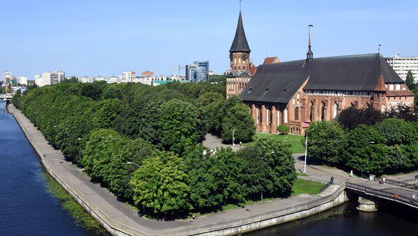 Кенигсбергский кафедральный собор в Килининграде - Sputnik France