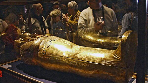 Le sarcophage d'or de Toutankhamon - Sputnik France