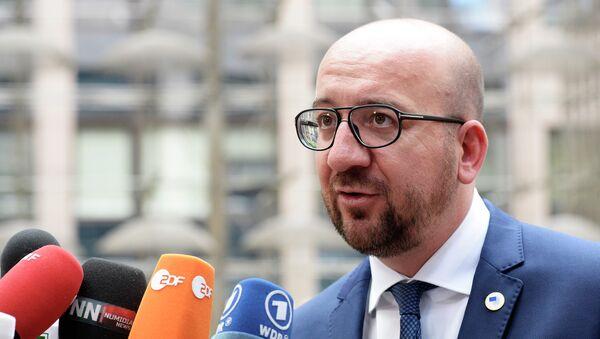 Le premier ministre belge Charles Michel - Sputnik France