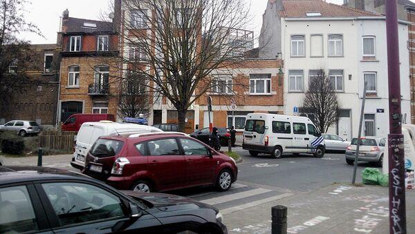 Des policiers belges dans la commune bruxelloise de Molenbeek - Sputnik France