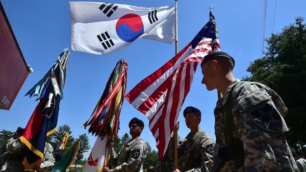 L'armée US en Corée du Sud - Sputnik France