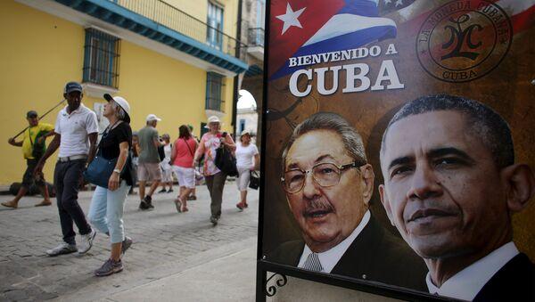 Visite historique: pourquoi Obama se rend-t-il à Cuba? - Sputnik France