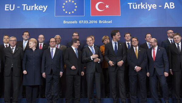 Le sommet UE-Turquie - Sputnik France