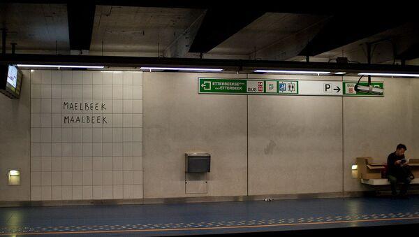 station de métro Maelbeek - Sputnik France
