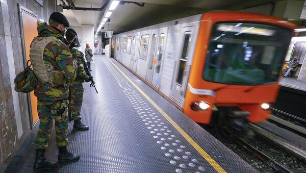 métro de Bruxelles - Sputnik France