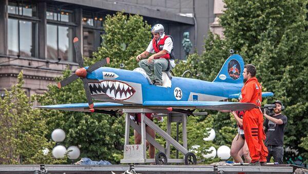 Red Bull Flugtag Stockholm June 2013 - Sputnik France