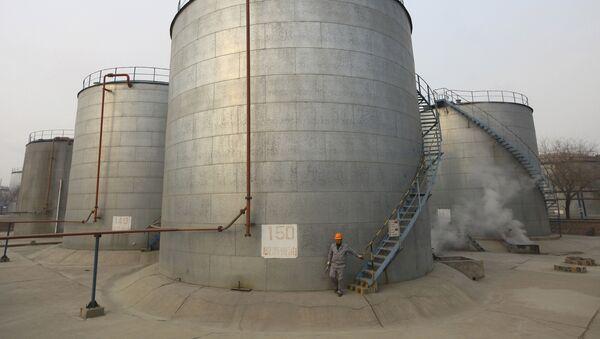 Réservoirs de stockage de pétrole, Chine - Sputnik France
